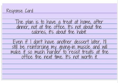 Response Card - I'm having a hard day so I deserve a treat. (2)